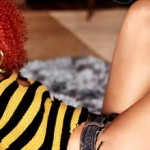 Rihanna z wizytą u Carterów