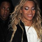 Beyoncé i Jay Z w Londynie