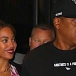 Wyjścia Jaya-Z i Beyoncé