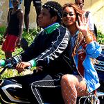 Na planie teledysku, Jamajka